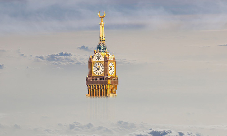 skyscraper-facts: The Makkah clock