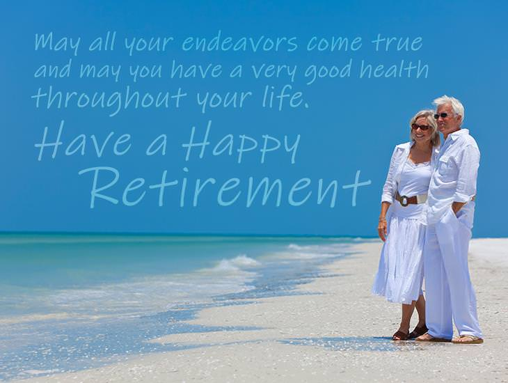 May You Have a Wonderful Retirement!