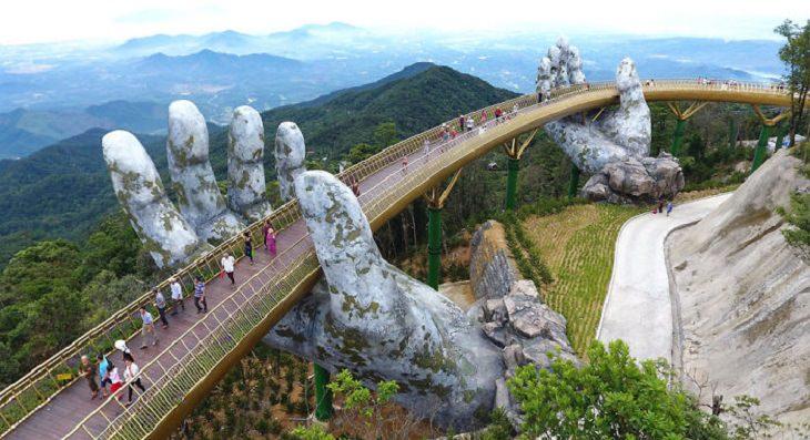 Stunning Bridge in Vietnam