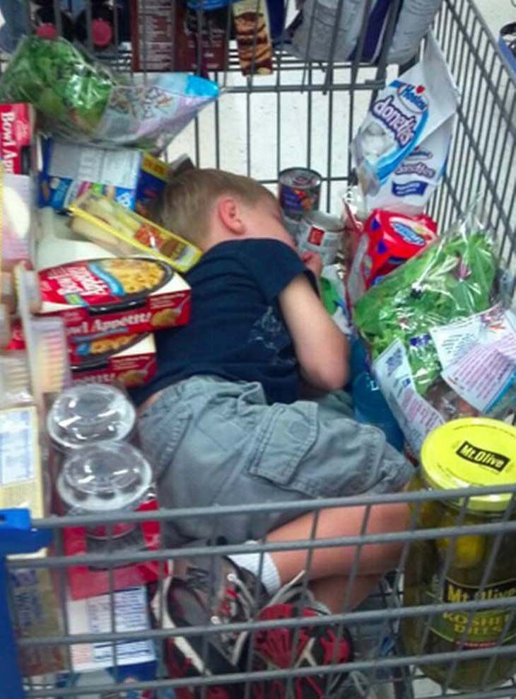kids who hate shopping