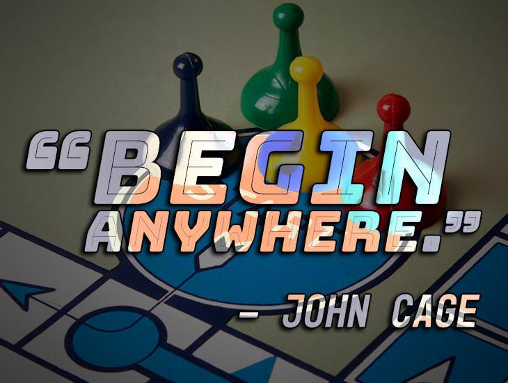 Begin Anywhere!