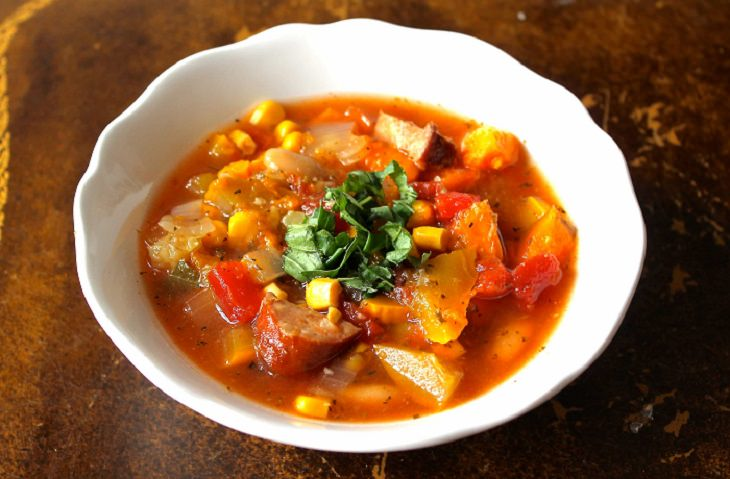 Summer Squash and Sausage Stew Recipe