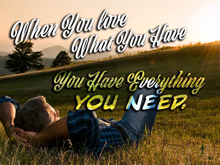 You Have Everything You Need.