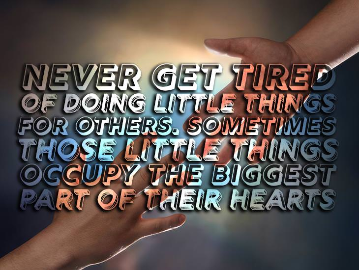 Little Things Occupy The Biggest Part Of Their Hearts