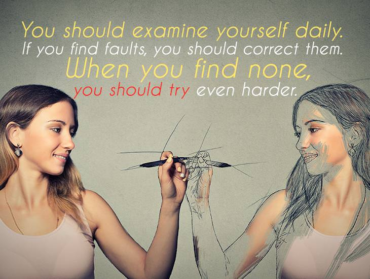 You Should Examine Yourself Daily