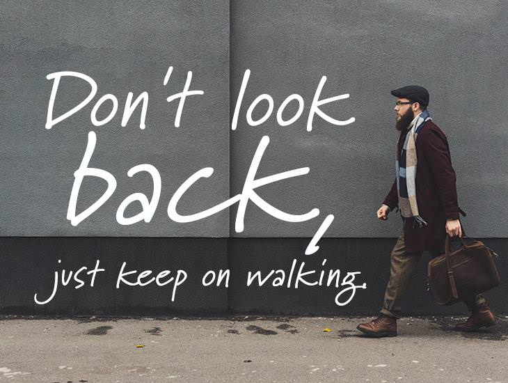Just Keep On Walking.