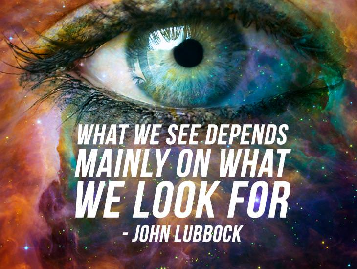 What We See Depends On What We Look For