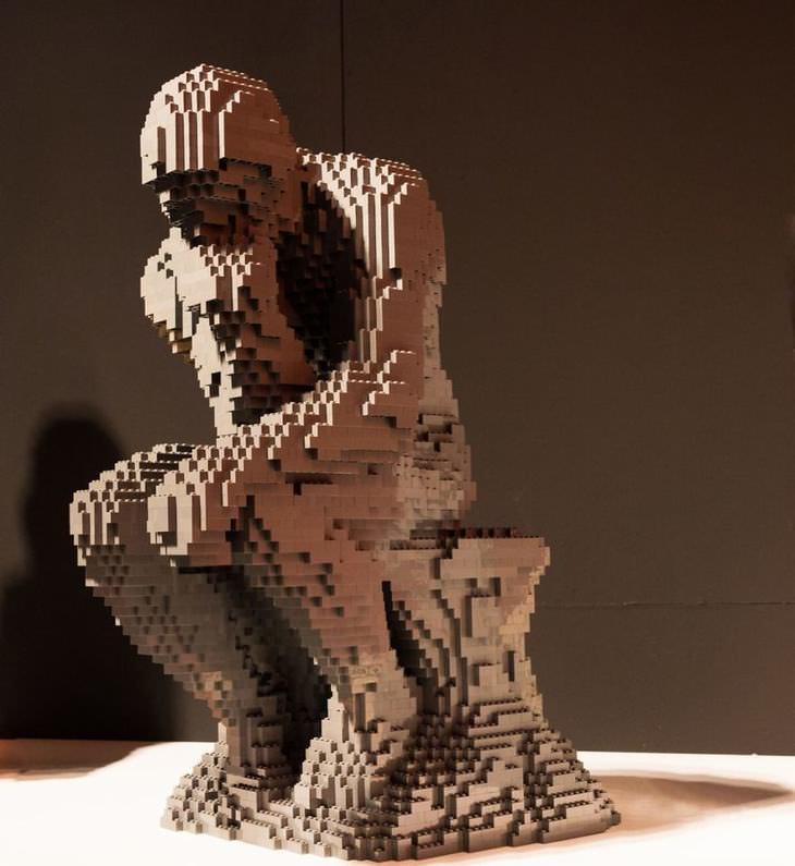 Lego structures art