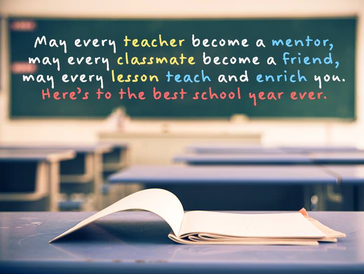 Here Is To The Best School Year Ever!