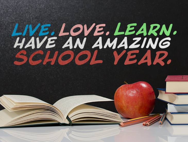 Have An Amazing School Year!