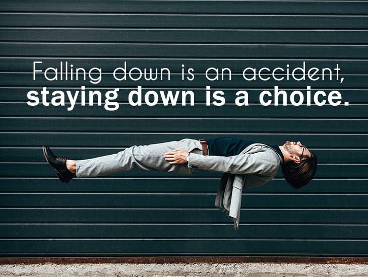Staying Down Is A Choice