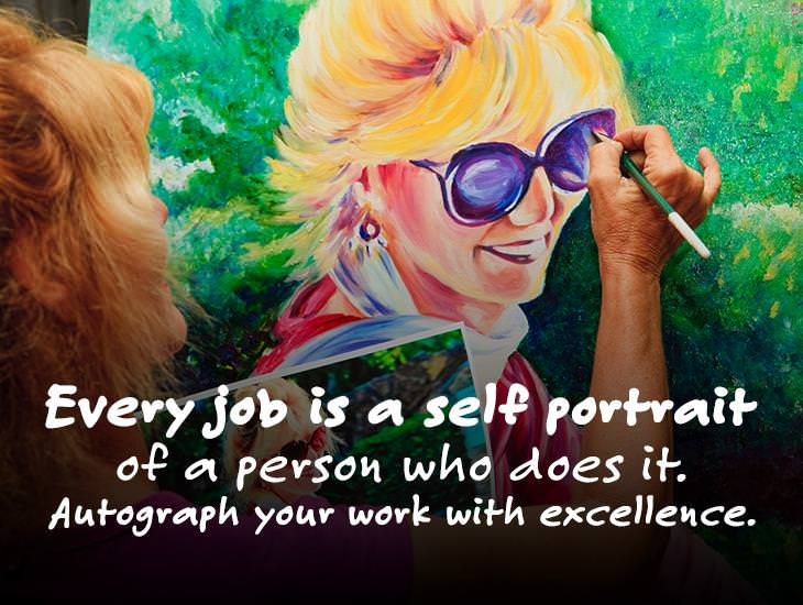 Every Job Is A Self Portrait