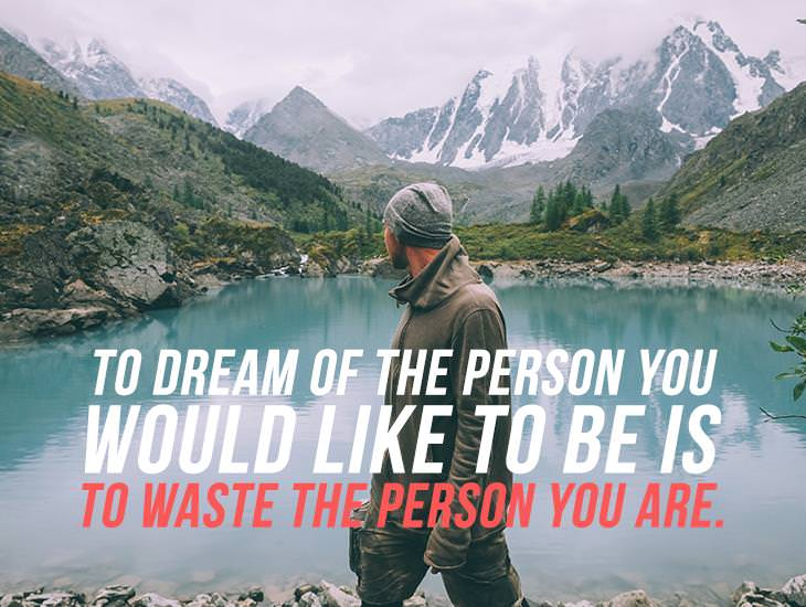Wasting The Person You Are