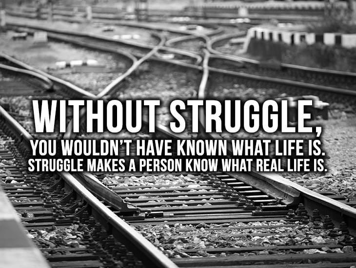 Life Without Struggle