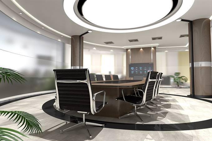 Elegant meeting room