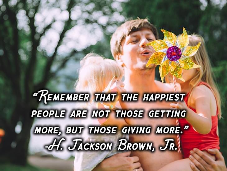 The Happiest People are Giving More