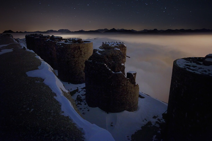 Alps Photography Bertero Fort Of The Clouds