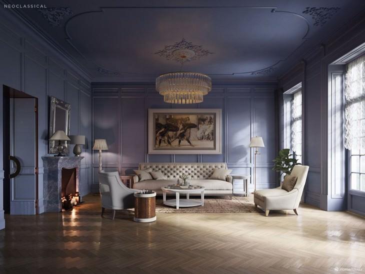 500 Years of Living Room Design Home Advisor Neoclassical