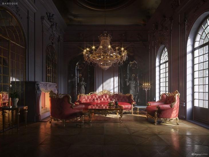 500 Years of Living Room Design Home Advisor Baroque