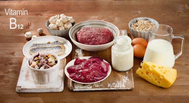 common nutrient deficiencies foods rich in Vitamin B12