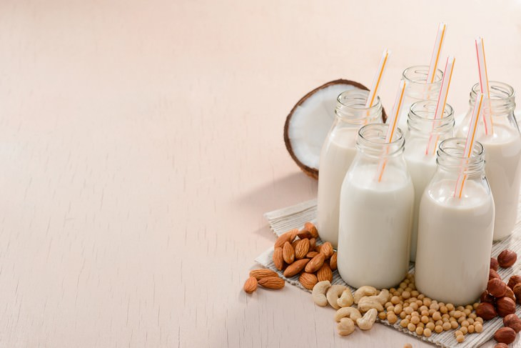 Plant Milks Suitable for Every Task different plant based milks in bottles
