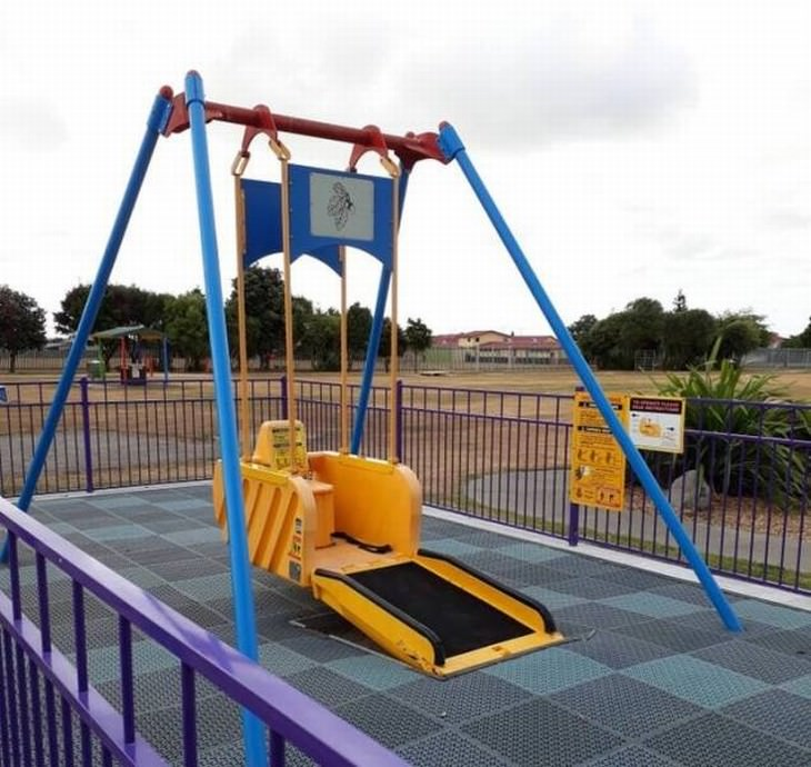 useful design innovations wheelchair swing