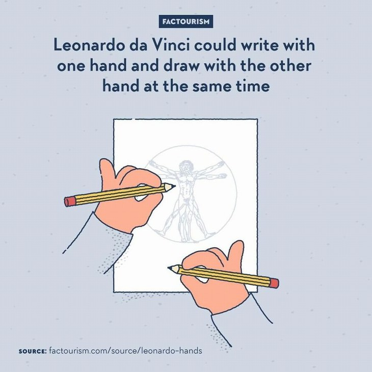 Factourism illustrations Leonardo da Vinci