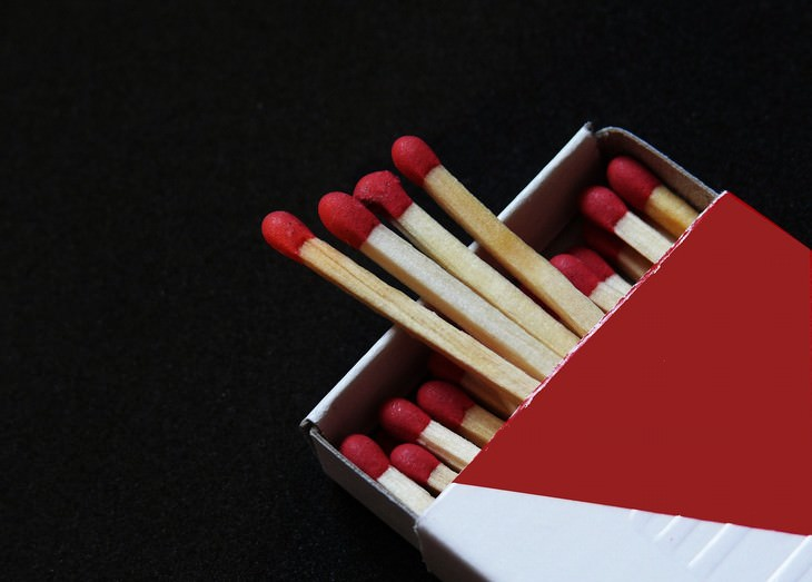 small things to save the environment Use matches instead of lighters