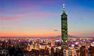 Unique buildings: Taipei 101 - Taiwan