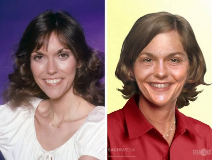 aged celebrities that passed away Karen Carpenter