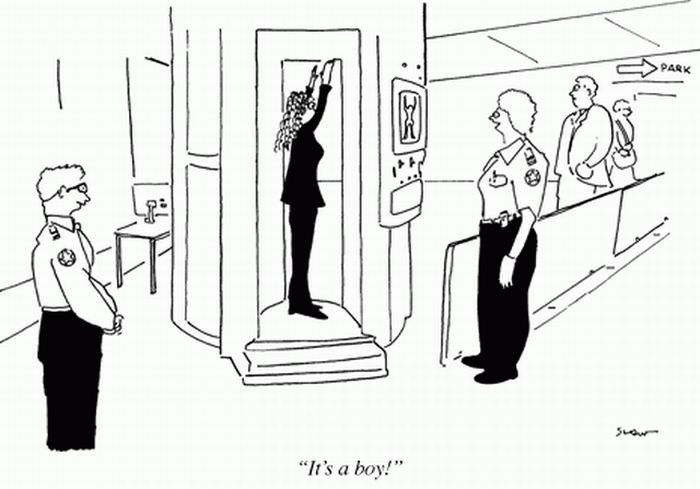 funny caricatures by the New Yorker