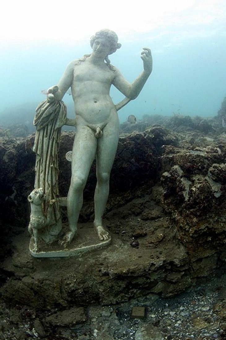 Underwater Ruins and Their History Baiae, Italy