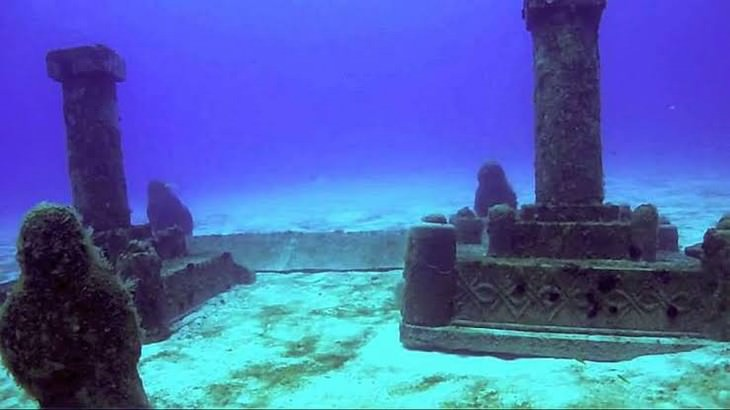 Underwater Ruins and Their History Dwarka, India