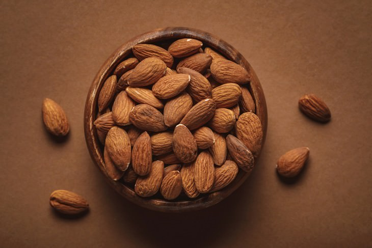 healthy foods that can be toxic almonds in a bowl