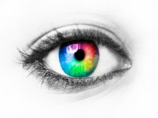 eye in colors