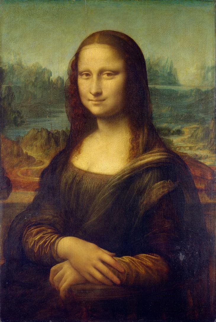 fun facts about famous artworks 'The Mona Lisa'by Leonardo da Vinci