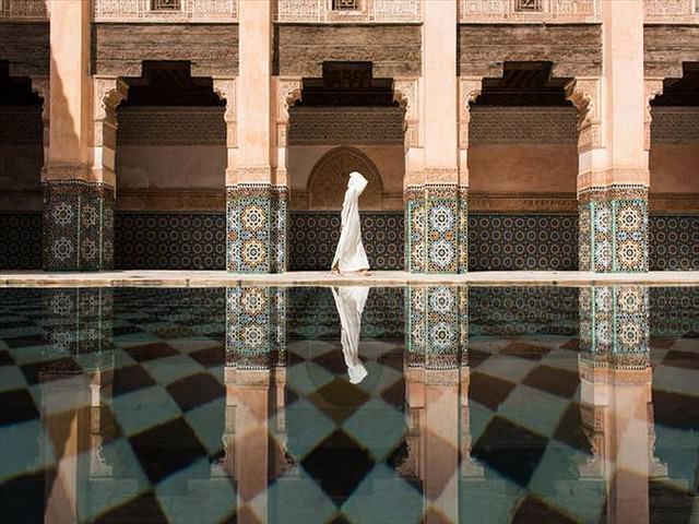 award winning photos: figure in a mosque