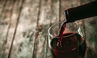 wine guide: pouring wine