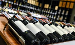 wine guide: bottles of wine