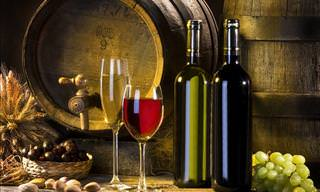 Wine guide: red and white wine