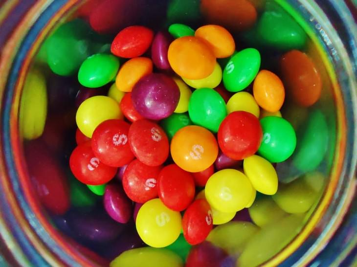 surprising food facts Skittles
