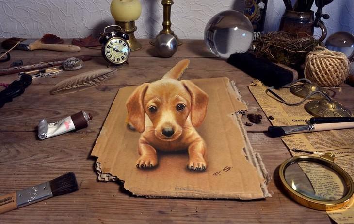 3D art by Stefan Pabst puppy