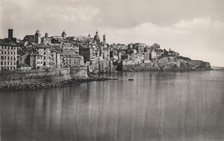 historical photos: Genova, Italy - 1875