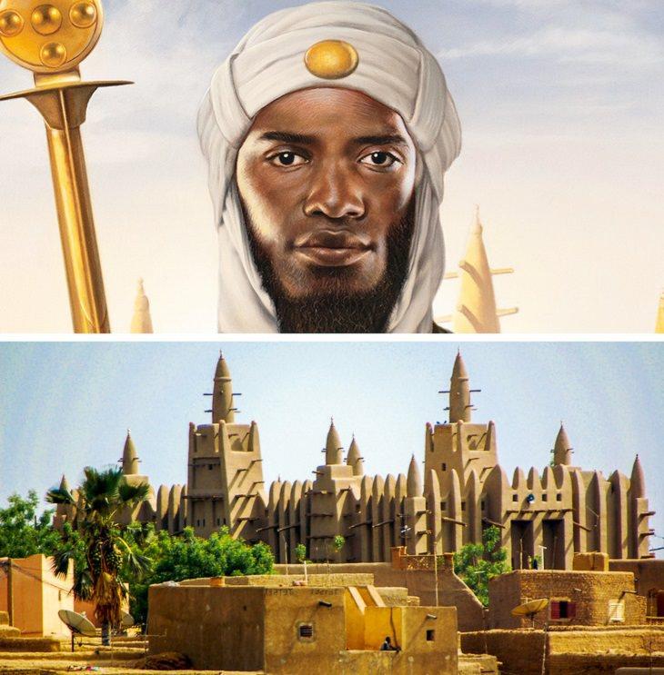 Richest Billionaires in history Mansa Musa