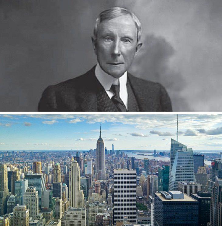 Richest Billionaires in history John D. Rockefeller