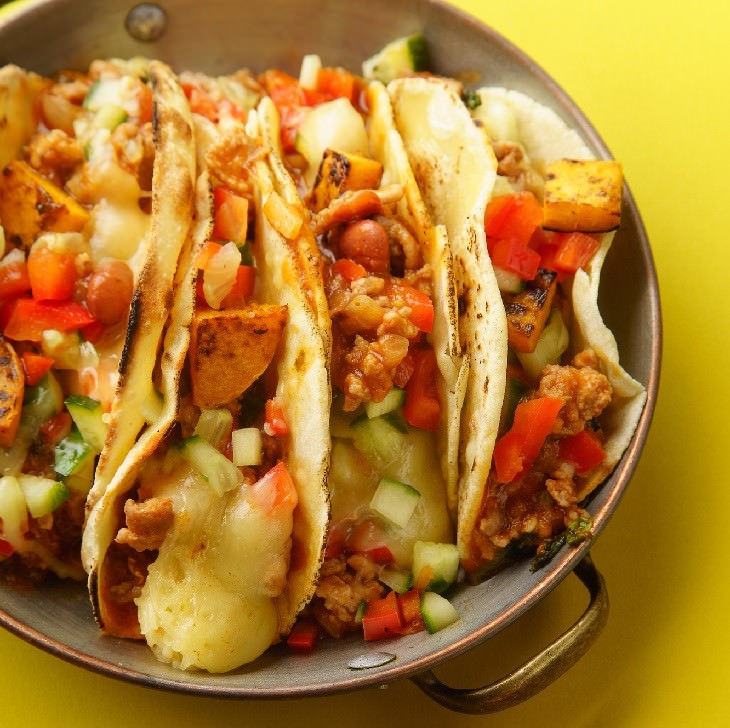 Valentine's recipes tacos