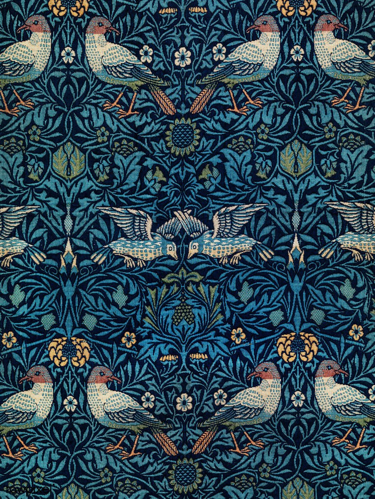 poetry art William Morris birds