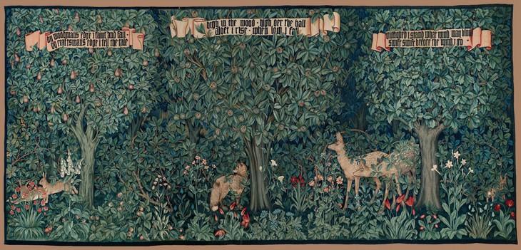 poetry art William Morris orchard