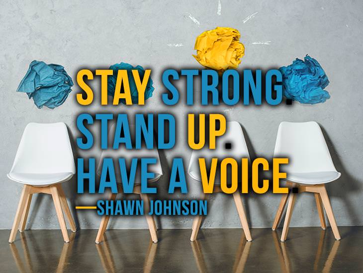 Stay Strong! Stand Up!