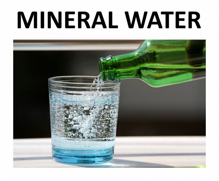 9 types of water mineral water